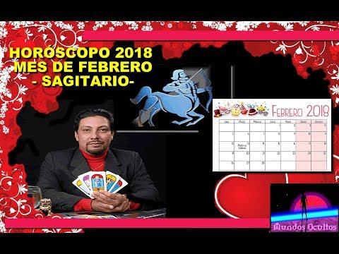 Horóscopo del mes de febrero 2018 para sagitario, por Reynaldo Silva