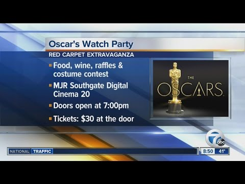 Oscar's Watch Party At MJR Southgate Digital Cinema 20