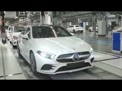 First Mercedes-Benz A-Class from Hungary