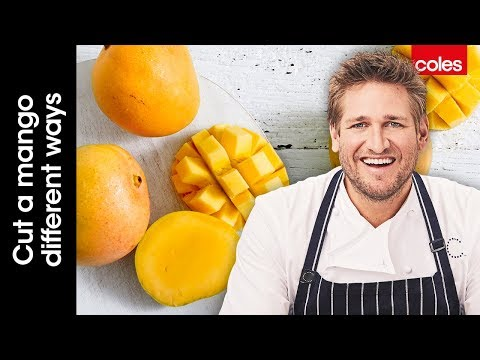 How to cut a mango different ways with Curtis Stone