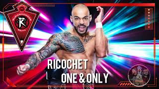 Ricochet WWE Theme Song 2020 ~ One & Only (V2 with Intro Edit & Laser Shot)