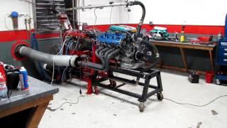 Porsche 928 6.5L Naturally Aspirated Race Motor, Manifold Test
