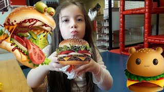 ASMR BURGER KING 🍟🍔 Hamburger ve DURU