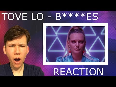 Tove Lo - bitches ft. Charli XCX, Icona Pop, Elliphant, ALMA ( Music Video + Song REACTION )