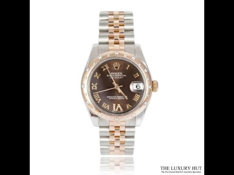 ROLEX BI-METAL LADY EVEROSE DATEJUST REF 178341 – 2013 FULL SET