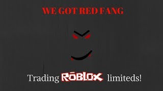 Trading roblox limiteds!| Road to dominus Ep.1| WE GOT RED FANG!