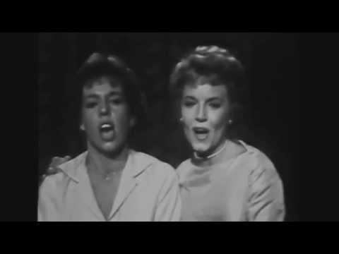 Carol Burnett & Janet Blair 1958