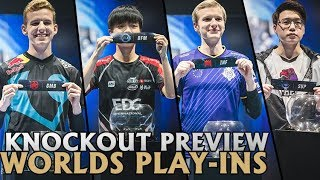 Worlds Play-In Knockout Round Preview: Smell Any Upsets? | 2018 Lol esports