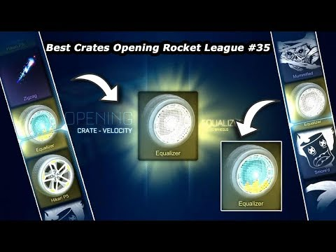 Best Crates Opening Rocket League #35