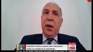 Coronavirus - Ricardo Lorenzetti: