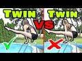 TWIN VS TWIN - POOL GYMNASTICS CHALLENGE💦