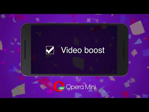 Opera Mini For Android, Now With Video Boost