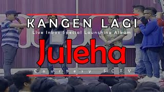 Video KANGEN LAGI [Juleha] Live Inbox Special Launching Album (30-03-2015) Courtesy SCTV download MP3, 3GP, MP4, WEBM, AVI, FLV Maret 2018