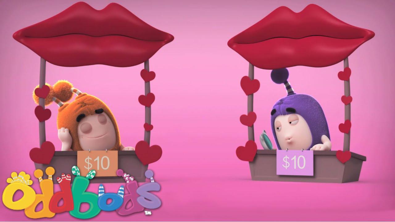 Oddbods   Valentine's Kissing Booth
