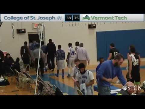 College of St. Joseph Men's Basketball vs. Vermont Tech