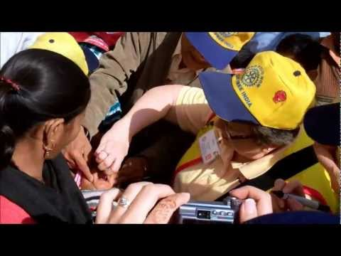 National Polio Immunization Day 2012 - India