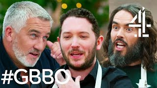 Russell Brand Has Everyone IN STITCHES & Jon Richardson Goes Vegan! | Celebrity Bake Off for SU2C