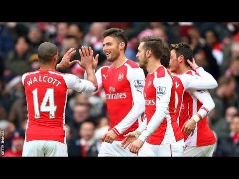 Arsenal 5-0 Aston Villa: Breaking News