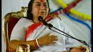 Self Realization Hindi (Kundalini Sahaja Yoga) Shri Mataji Vancouver 1999 (Hindu Temple) Atma Yoga