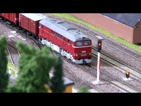 Model Trains and Model Railroading in former East Germany