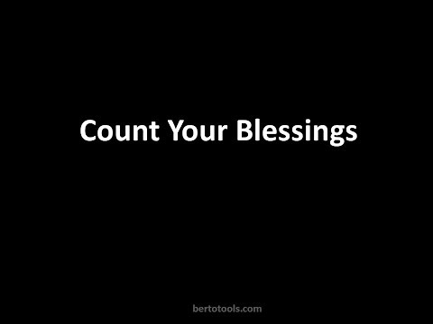 Count Your Blessings Name them One by One Instrumental Worship Song with lyrics