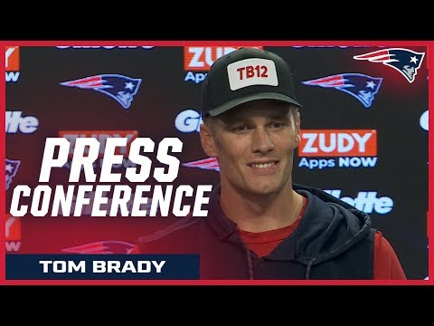 "Tom Brady on the Ravens: ""They're a great team"""