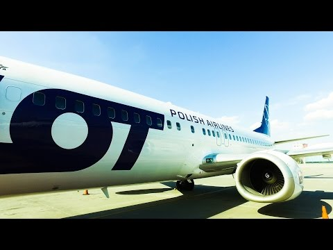 LOT polish airlines | Boeing 737-400 | Warsaw to Brussels | Economy class tripreport.
