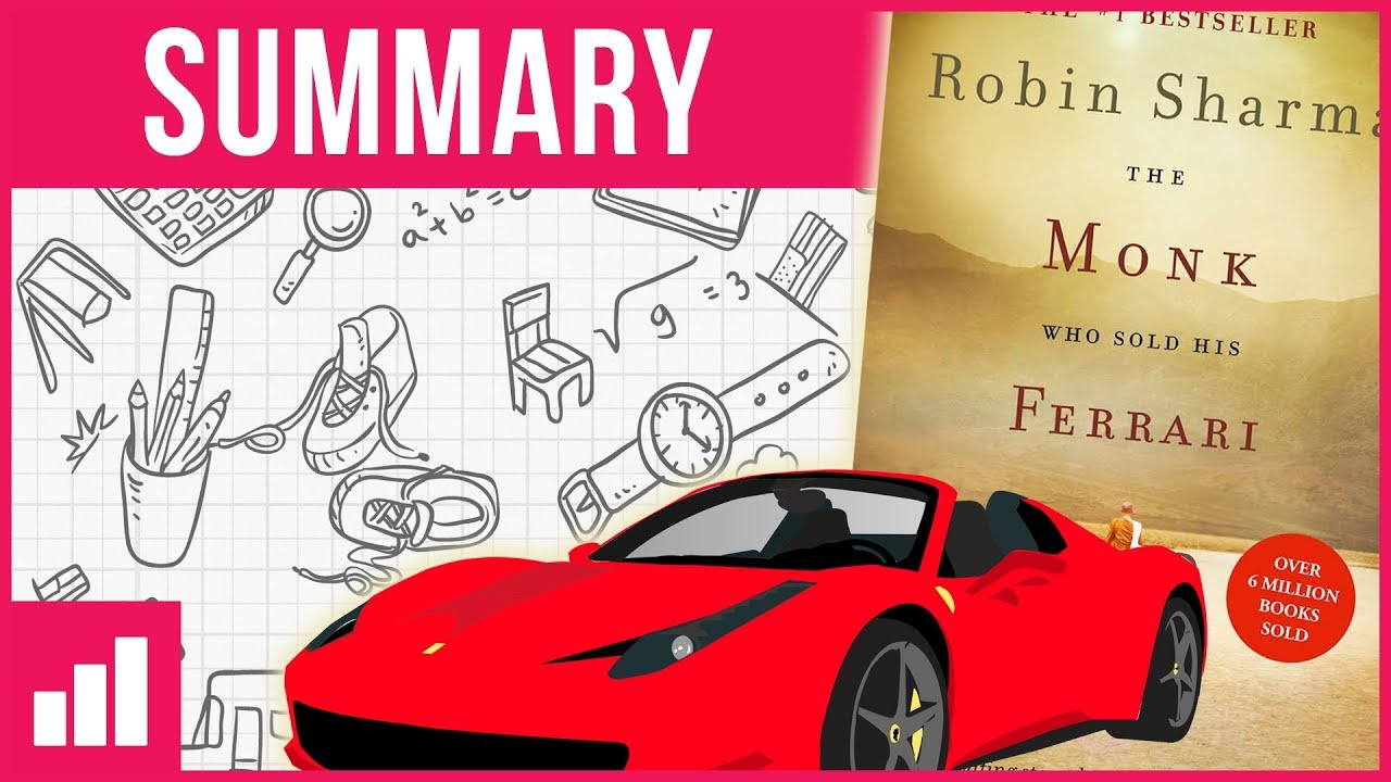 the monk who sold his ferrari ▻ book summary - youtube