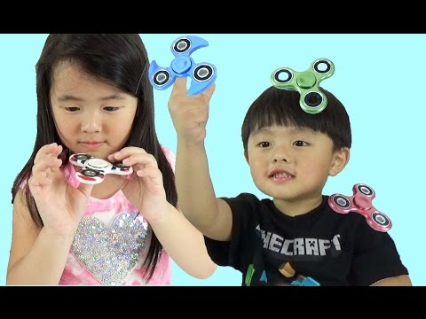 Thumbnail: Fidget Spinners Challenge for Kids | Learn Colors for Children and Toddlers with Fidget Spinners
