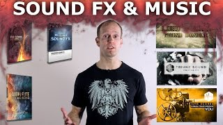 Best Music and Sound Effects for Film Making