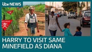Prince Harry to go back to the same minefield Princess Diana walked through | ITV News