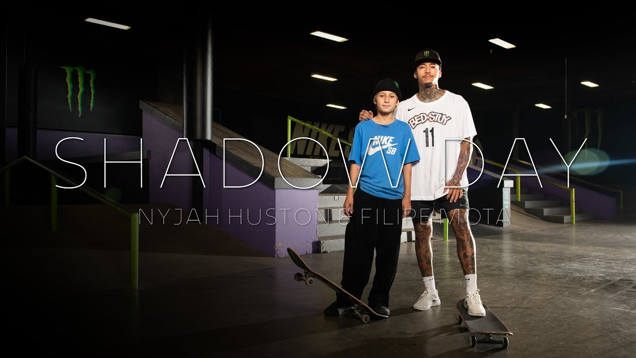 Shadow Day | Nyjah Huston & Filipe Mota