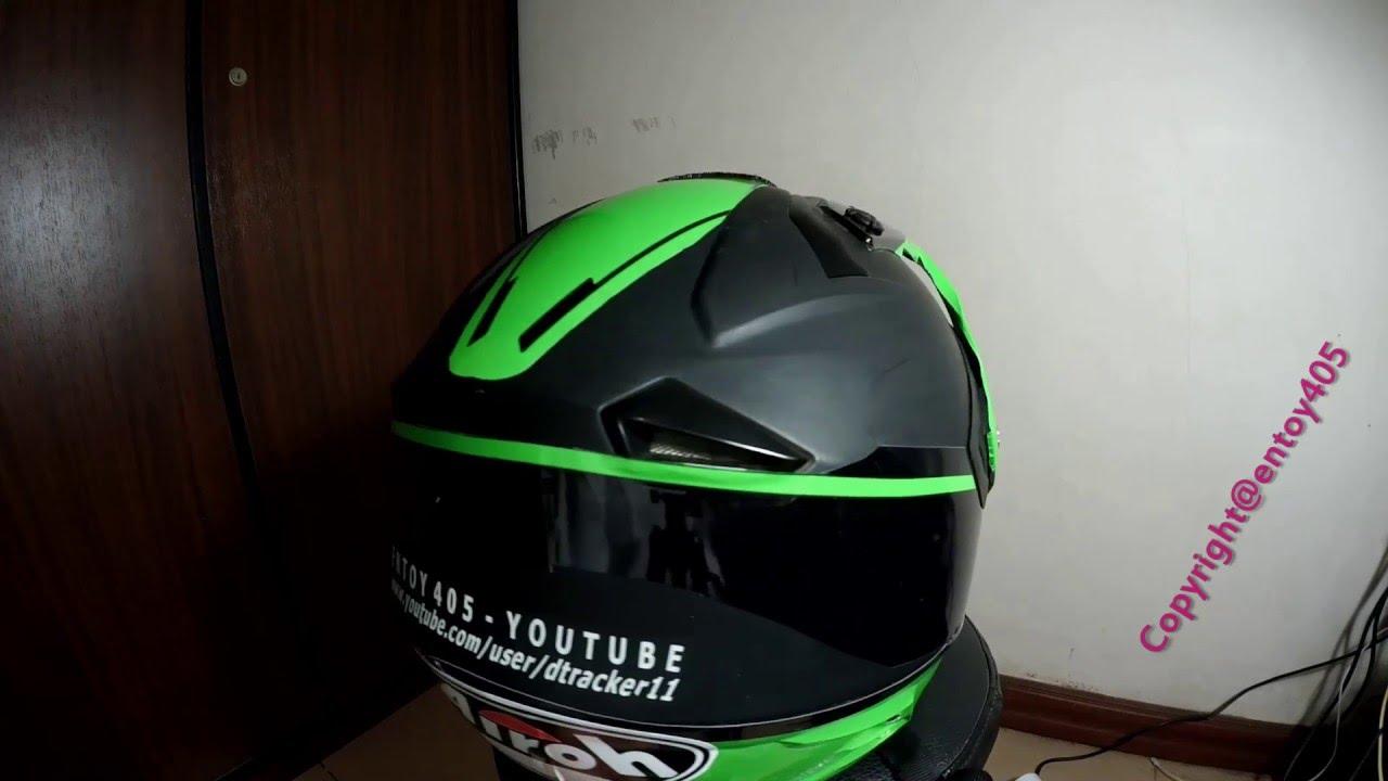 Pasang Stiker Sendiri Diy Helmet Sticker Youtube Carbon Skotlet Karbon 5d