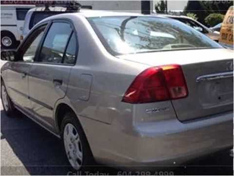 2001 Honda Civic Used Cars Vancouver Bc Youtube