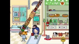 Toca life:city-the big food tower