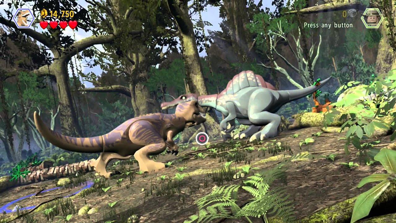 Lego jurassic world spinosaurus vs youtube - Lego dinosaurs spinosaurus ...