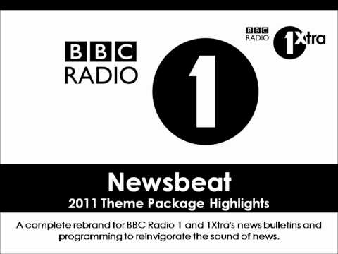 BBC Radio 1 - Newsbeat 2011 Theme Package Highlights