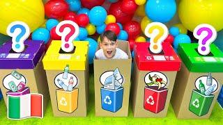 Pulisci la spazzatura Canzoni per bambini de Five Kids