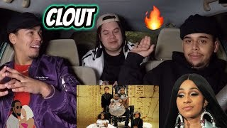 Offset x Cardi B - Clout (REACTION REVIEW)