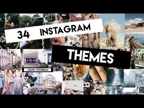 34 Instagram Themes