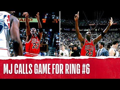 MJ Calls Game For Ring #6 | The Jordan Vault
