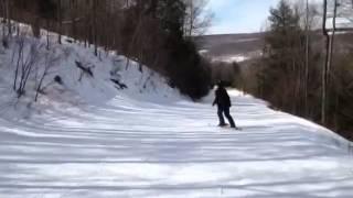 Spring Skiing : Swain, New York
