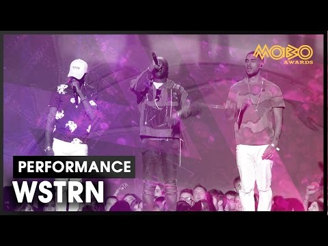 'In2' | WSTRN | live at MOBO Awards | 2016 | MOBO