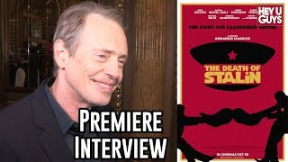 Steve Buscemi Interview - The Death of Stalin Premiere | TIFF17
