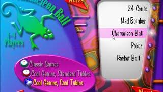 3-D Ultra Cool Pool (13/15): Chameleon Ball (Cool table)