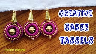 New Creative Saree Tassels using rings/Design#23