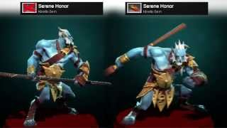 Dota 2 Phantom Lancer - Serene Honor kinetic gem preview