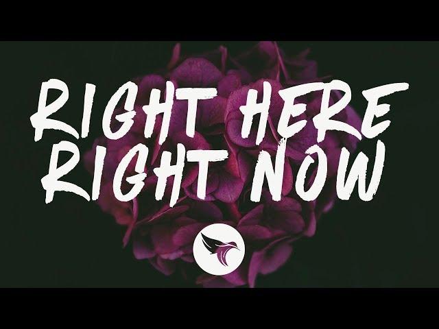 San Holo - Right Here Right Now (Lyrics) Midnight Kids Remix, ft. Taska Black