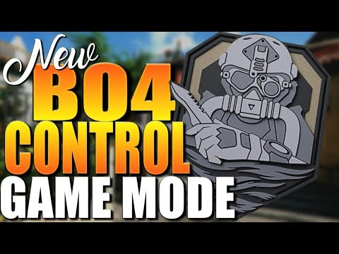 Everything You Wanted To Know About The New Control Game Mode In Black Ops 4 (BO4 Control Game Mode)