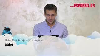 ESPRESO TVITER: Miloš Biković čita tvitove o sebi